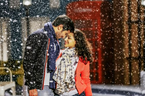 Image result for dulquer snow