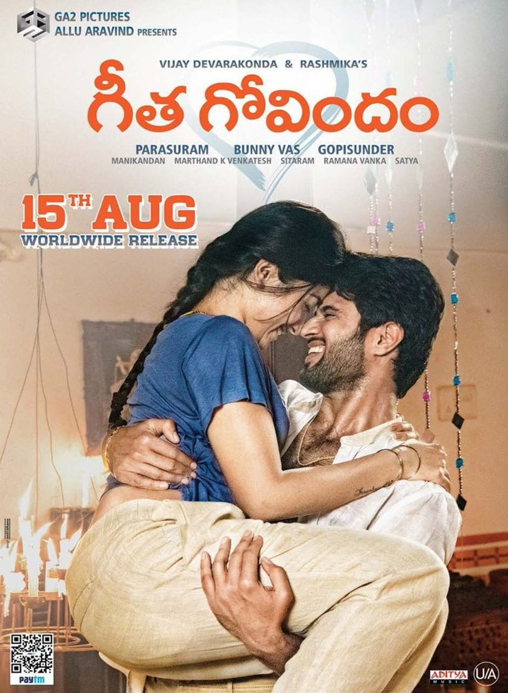 Free Geetha Govindam Full movie Hindi Dubbed Online Watch Full HD | Bollywoodspy