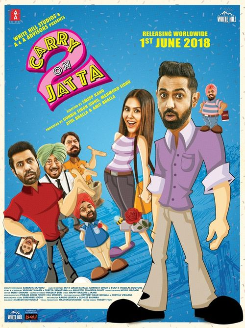 Carry on Jatta 2 New 2018 Full HD Movie Download