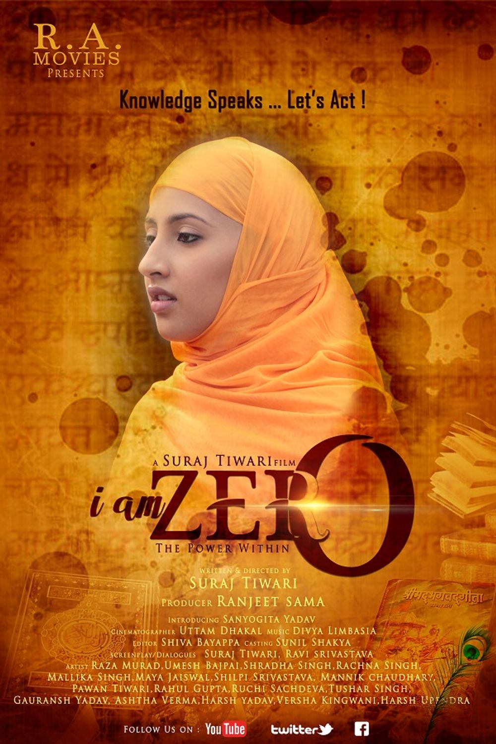 I Am Zero The Power Within (2019) Hindi 480p |  720p HDRip x264  200MB |1.3GB Download